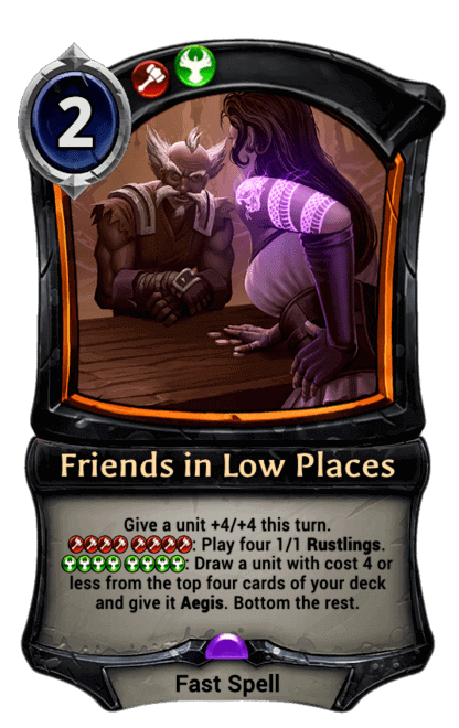 Card image for Friends in Low Places