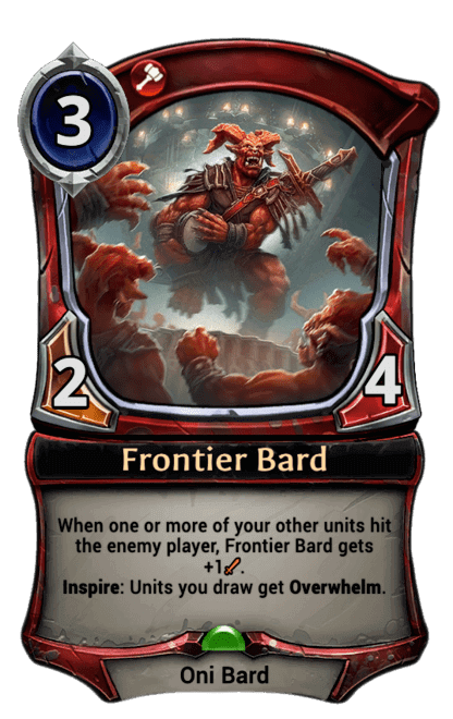 Card image for Frontier Bard