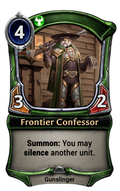 Card image for Frontier Confessor