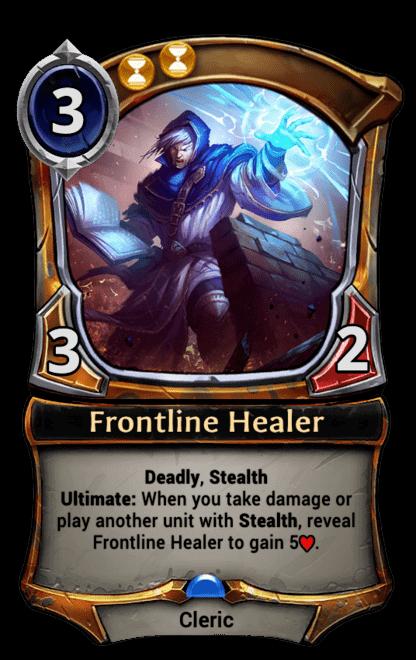 Card image for Frontline Healer