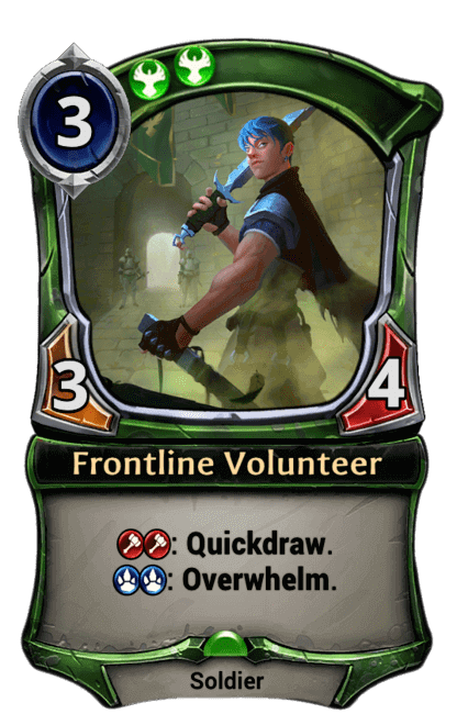 Card image for Frontline Volunteer
