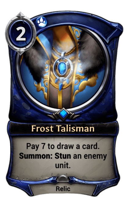 Card image for Frost Talisman