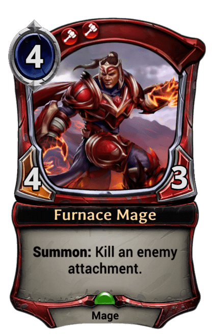 Card image for Furnace Mage