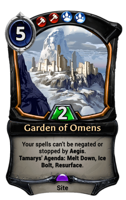 Card image for Garden of Omens