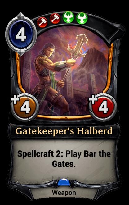 Card image for Gatekeeper's Halberd