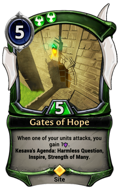 Card image for Gates of Hope