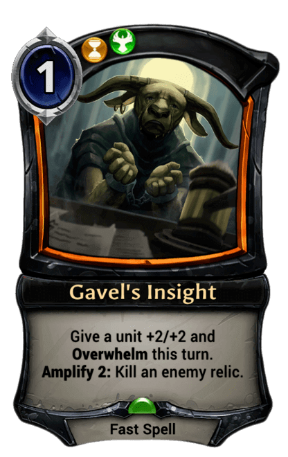 Card image for Gavel's Insight