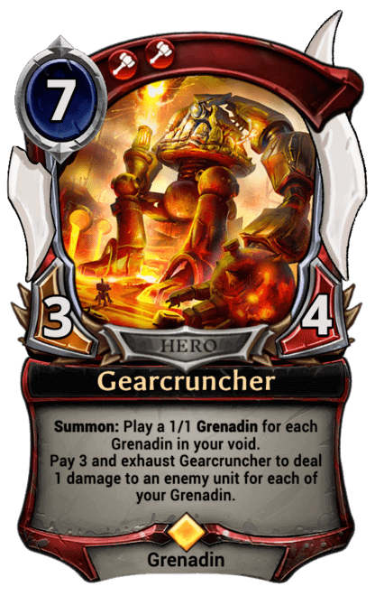 Card image for Gearcruncher