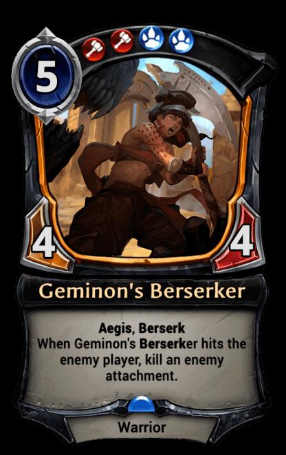 Card image for Geminon's Berserker