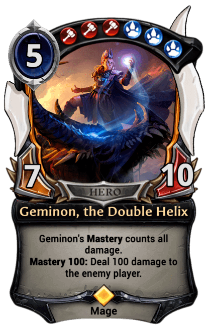 Card image for Geminon, the Double Helix