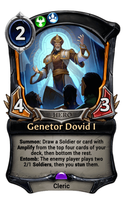 Card image for Genetor Dovid I