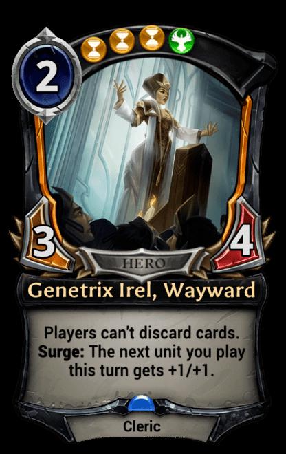 Card image for Genetrix Irel, Wayward