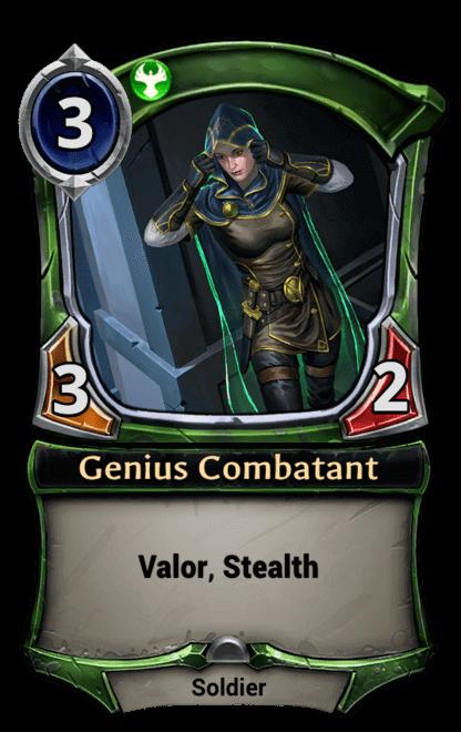 Card image for Genius Combatant