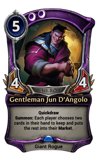 Card image for Gentleman Jun D'Angolo