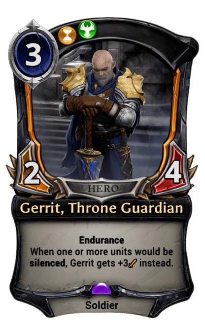 Card image for Gerrit, Throne Guardian