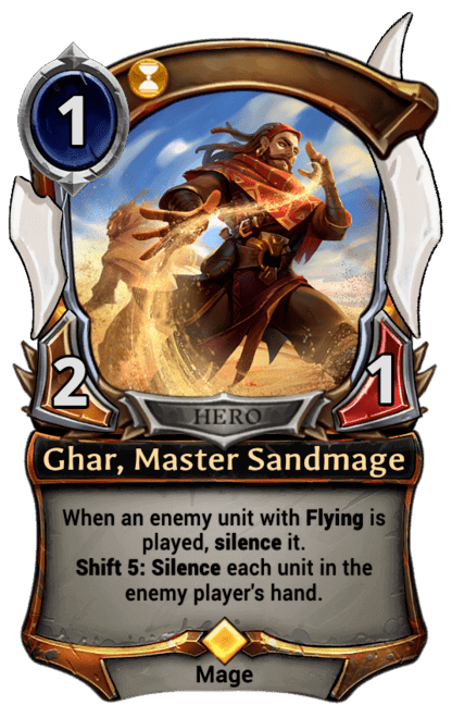 Card image for Ghar, Master Sandmage