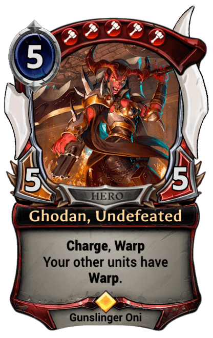 Card image for Ghodan, Undefeated