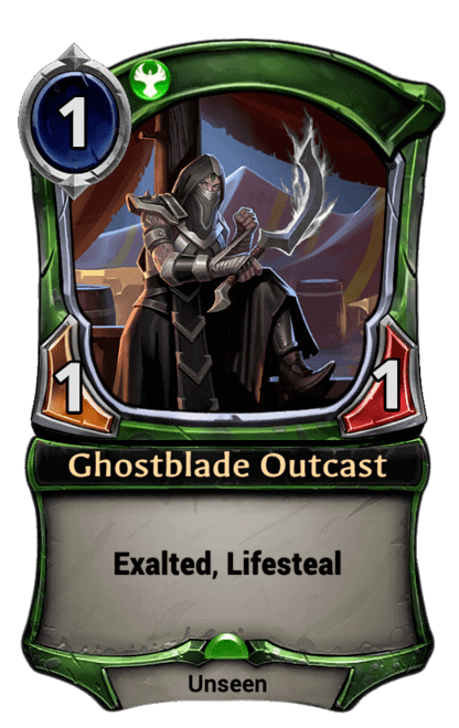 Card image for Ghostblade Outcast