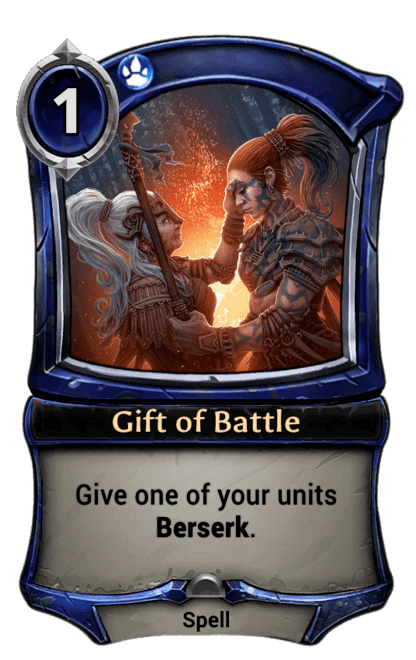 Card image for Gift of Battle