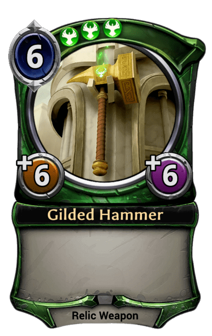 Card image for Gilded Hammer