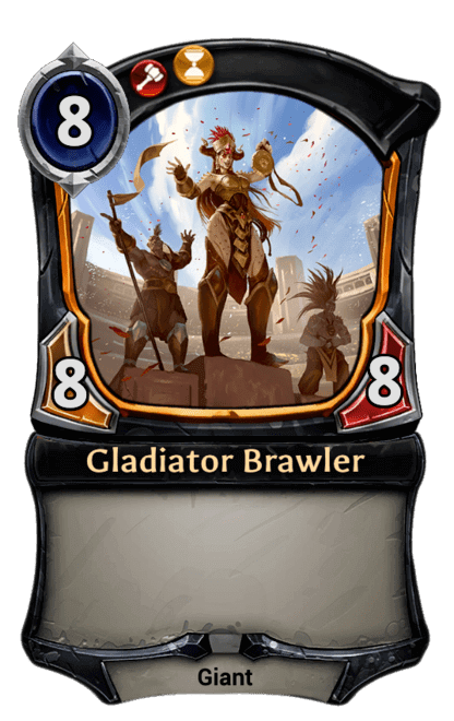 Card image for Gladiator Brawler