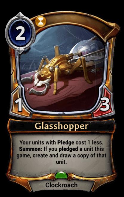 Card image for Glasshopper