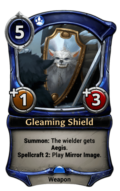 Card image for Gleaming Shield