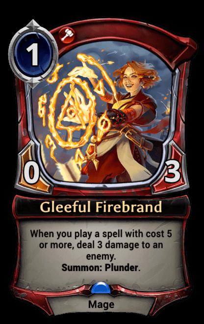 Card image for Gleeful Firebrand