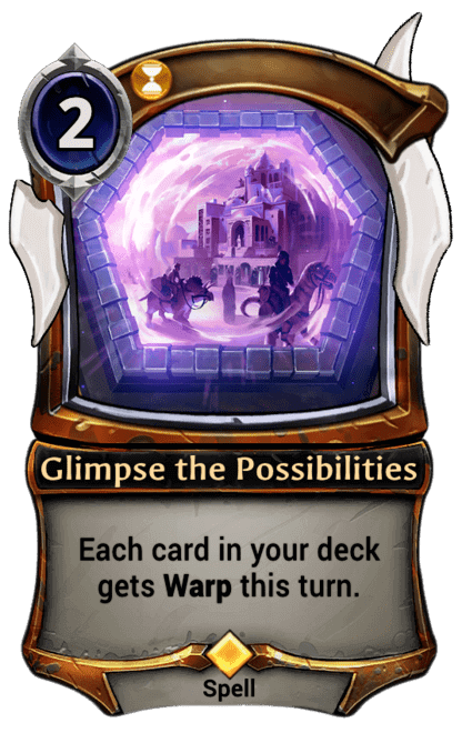 Card image for Glimpse the Possibilities