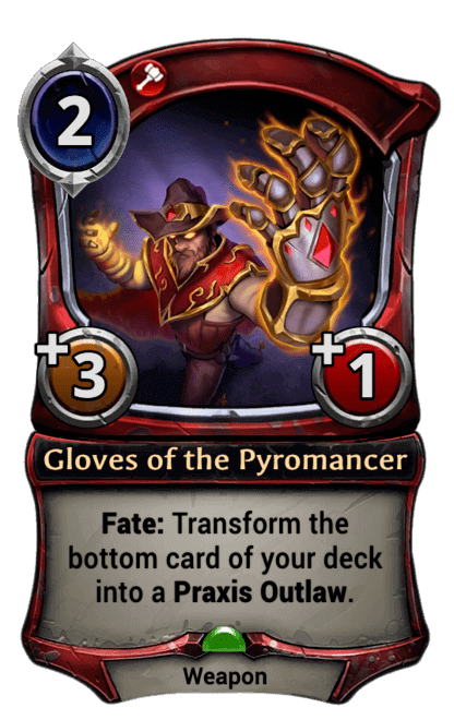 Card image for Gloves of the Pyromancer