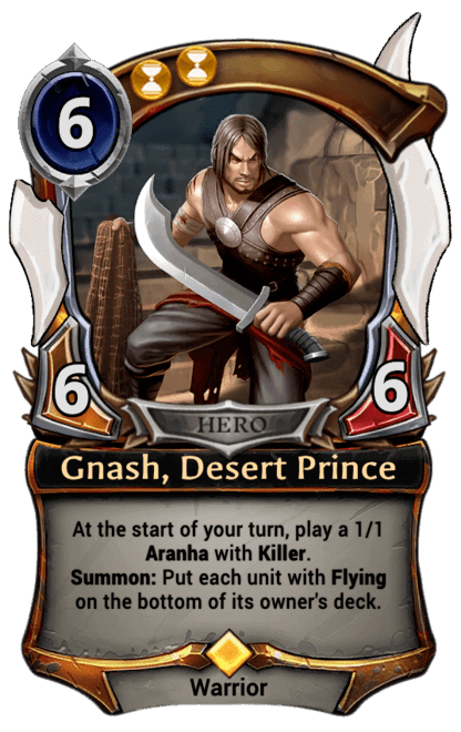Card image for Gnash, Desert Prince