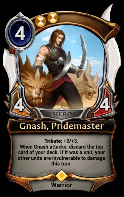 Card image for Gnash, Pridemaster