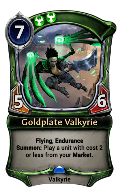Card image for Goldplate Valkyrie