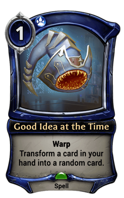 Card image for Good Idea at the Time