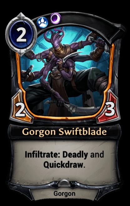 Card image for Gorgon Swiftblade