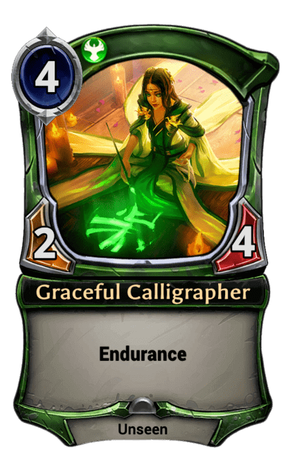 Card image for Graceful Calligrapher