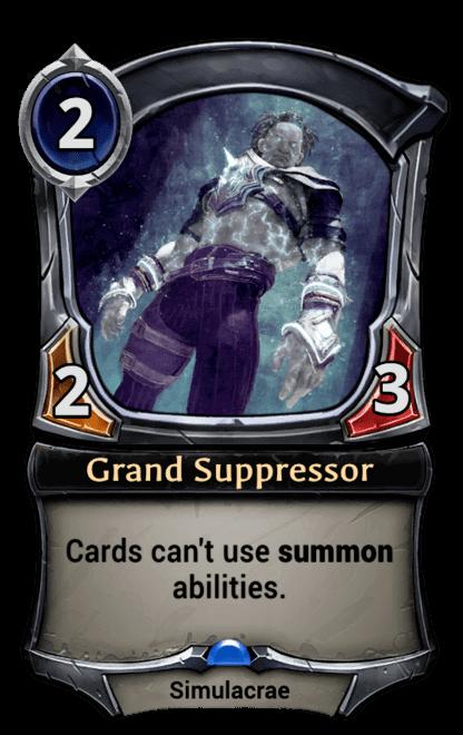 Card image for Grand Suppressor