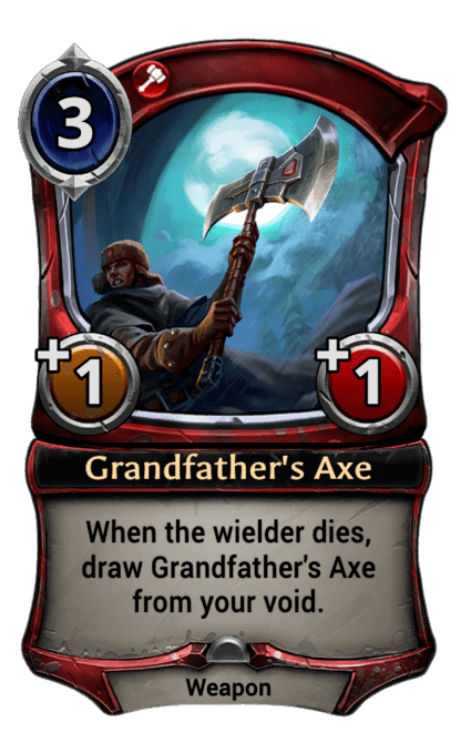 Card image for Grandfather's Axe