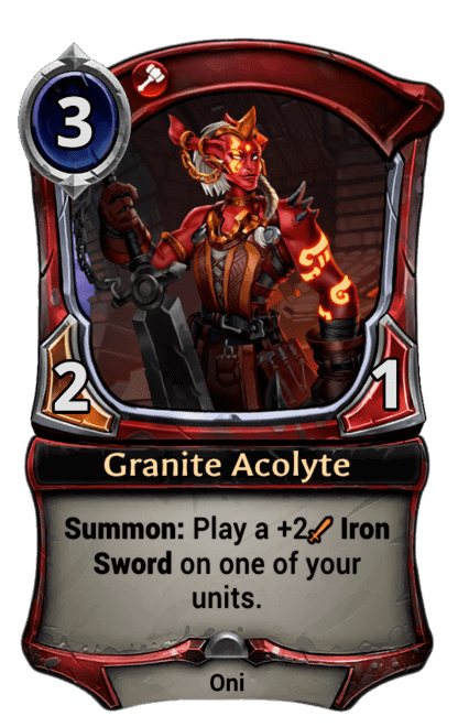 Card image for Granite Acolyte