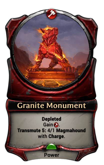 Card image for Granite Monument