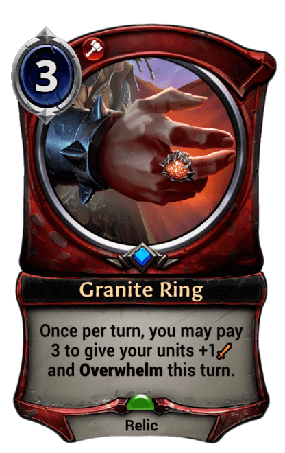 Card image for Granite Ring