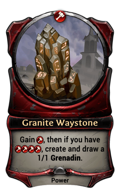 Card image for Granite Waystone