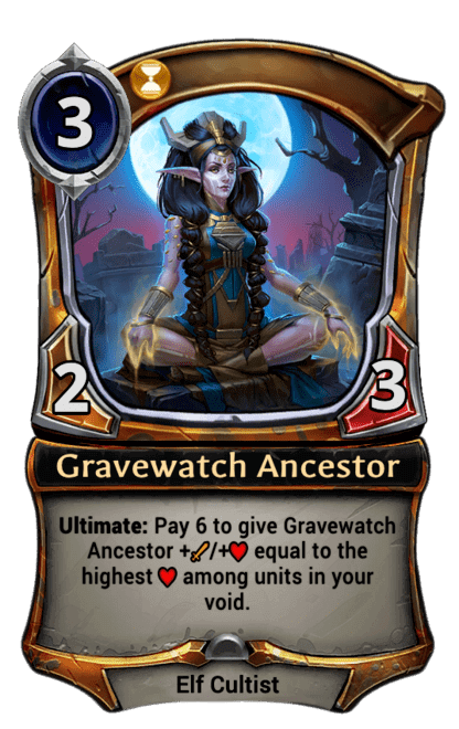 Card image for Gravewatch Ancestor