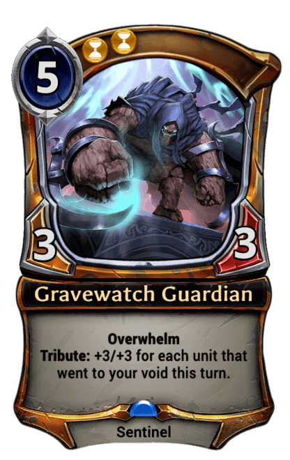 Card image for Gravewatch Guardian