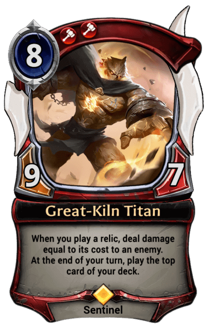 Card image for Great-Kiln Titan