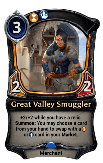 Card image for Great Valley Smuggler