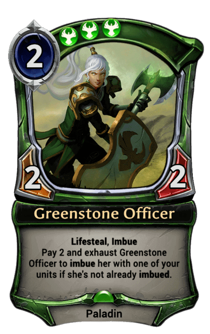 Card image for Greenstone Officer