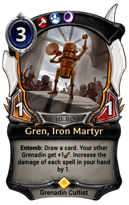 Card image for Gren, Iron Martyr