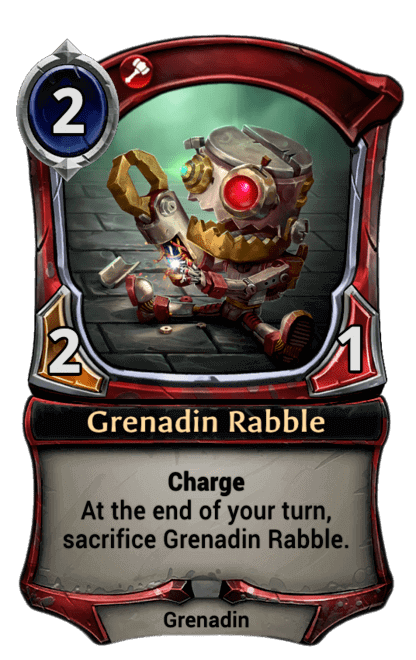 Card image for Grenadin Rabble