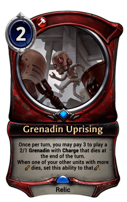 Card image for Grenadin Uprising